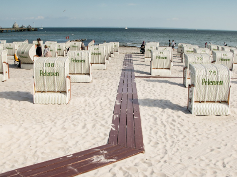 Luxus Strandkorb: Benutzen Sie diesen hochwertigen Strandkorb