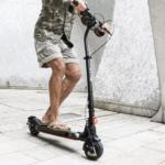 Ein Elektro Scooter